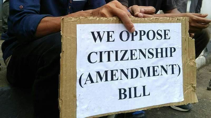 Letter of Opposition to the Citizenship (Amendment) Bill (2019)