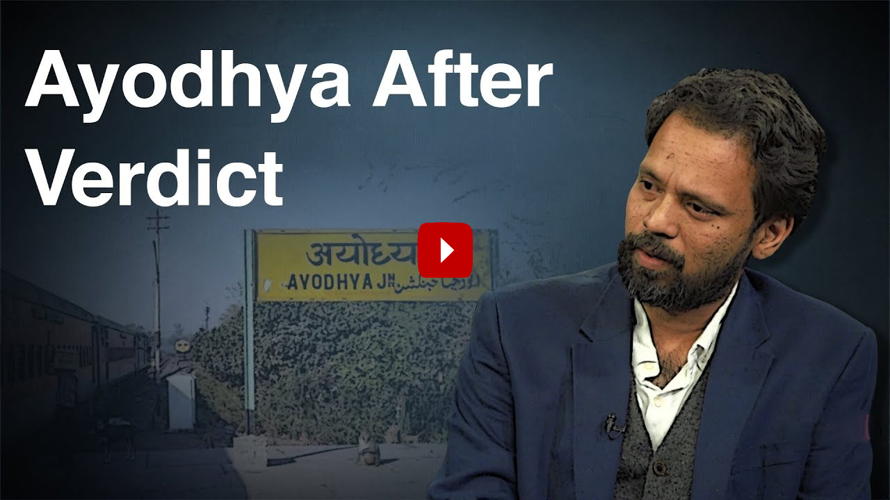 """""""Disputed Site Transformed How Ayodhya Sees Itself"""""""