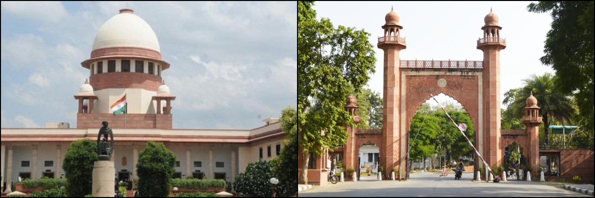 SC tells petitioner to move High Court against the ban on dharna at AMU's administrative block main gate