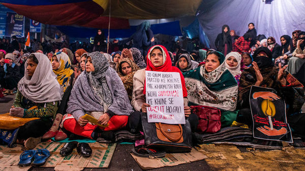 Shaheen Bagh: Thousands say in one voice – nothing less than CAA roll-back