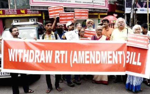 How RTI Amendment Bill was passed undermining pre-legisaltive consultation rule