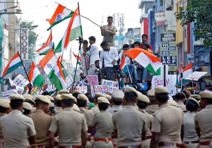 Hundreds detained in Chennai for anti-CAA rally