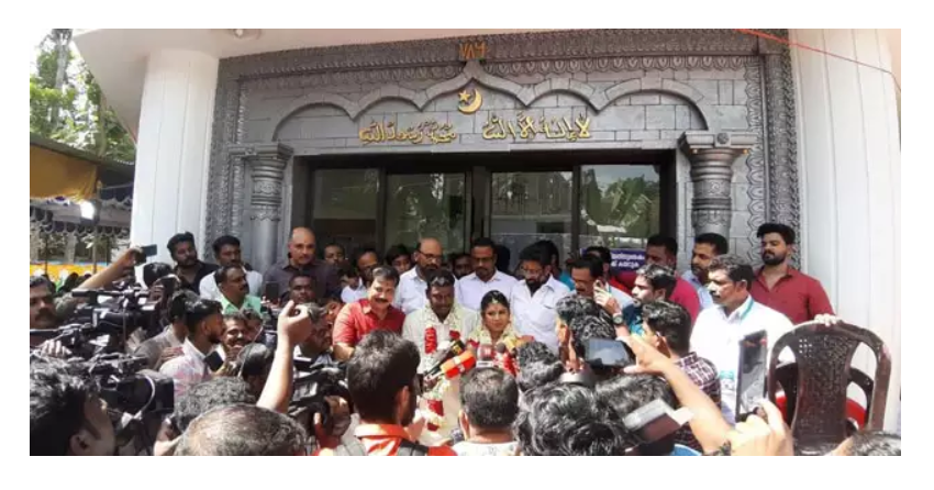 Kerala mosque opens doors for Hindu wedding