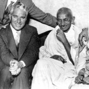 Gandhi inspired Charlie Chaplin to make his classic movie <em>Modern Times</em>