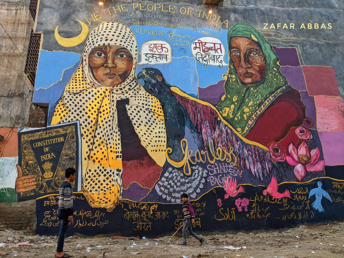 How Shaheen Bagh galvanised the artistic protest