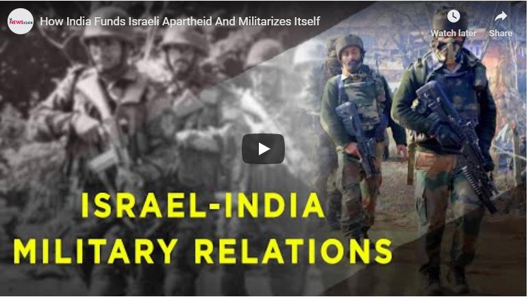 How India funds Israeli apartheid and militarises itself